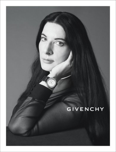 "Marina Abramovič ""Givenchy"" reklamoje"