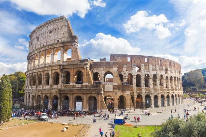 123rf.com nuotr./Romos koliziejus