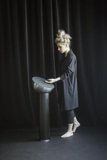 """Konkurso """"Jaunojo dizainerio prizas 2015"""" nuotr./Dominykos Barkauskaitės kūrinys – Vizualiniai garso pojūčių konceptai"""