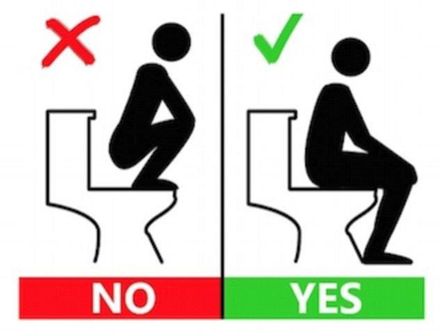 Naudojimosi tualetu instrukcija