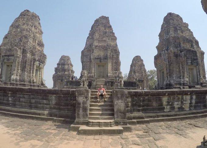 Asmeninio albumo nuotr./Angkor Wat šventykla, Kambodža