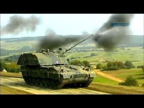 VIDEO kadras: Haubica Pzh 2000