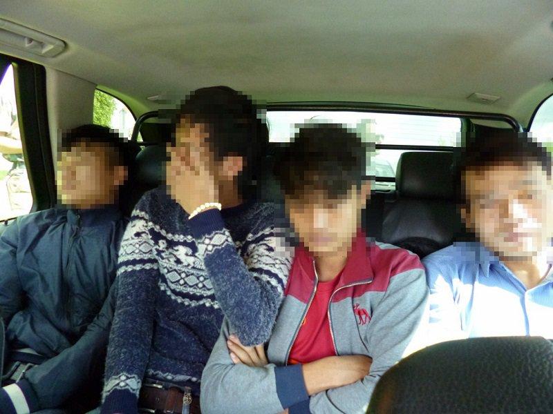 Kalvarijos pasieniečiai sulaikė 6 nelegalius vietnamiečius