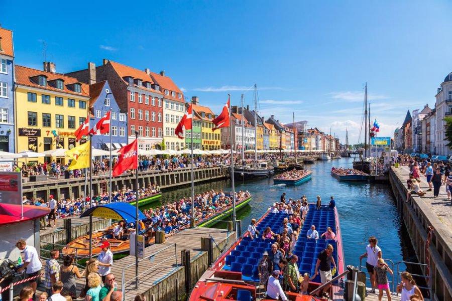 Nyhavn rajonas vienas populiariausių Kopenhagoje