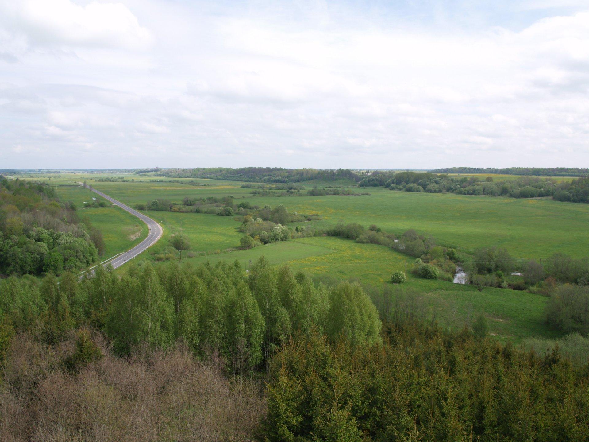Kartenos Piliakalnis Salantu Regioninis Parkas.Lietuviskoji Tundra Salantų Regioniniame Parke