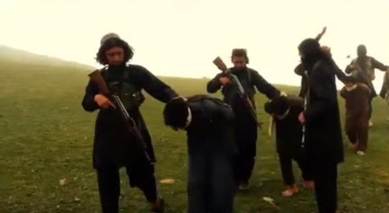 Teroristai veda įkaitus