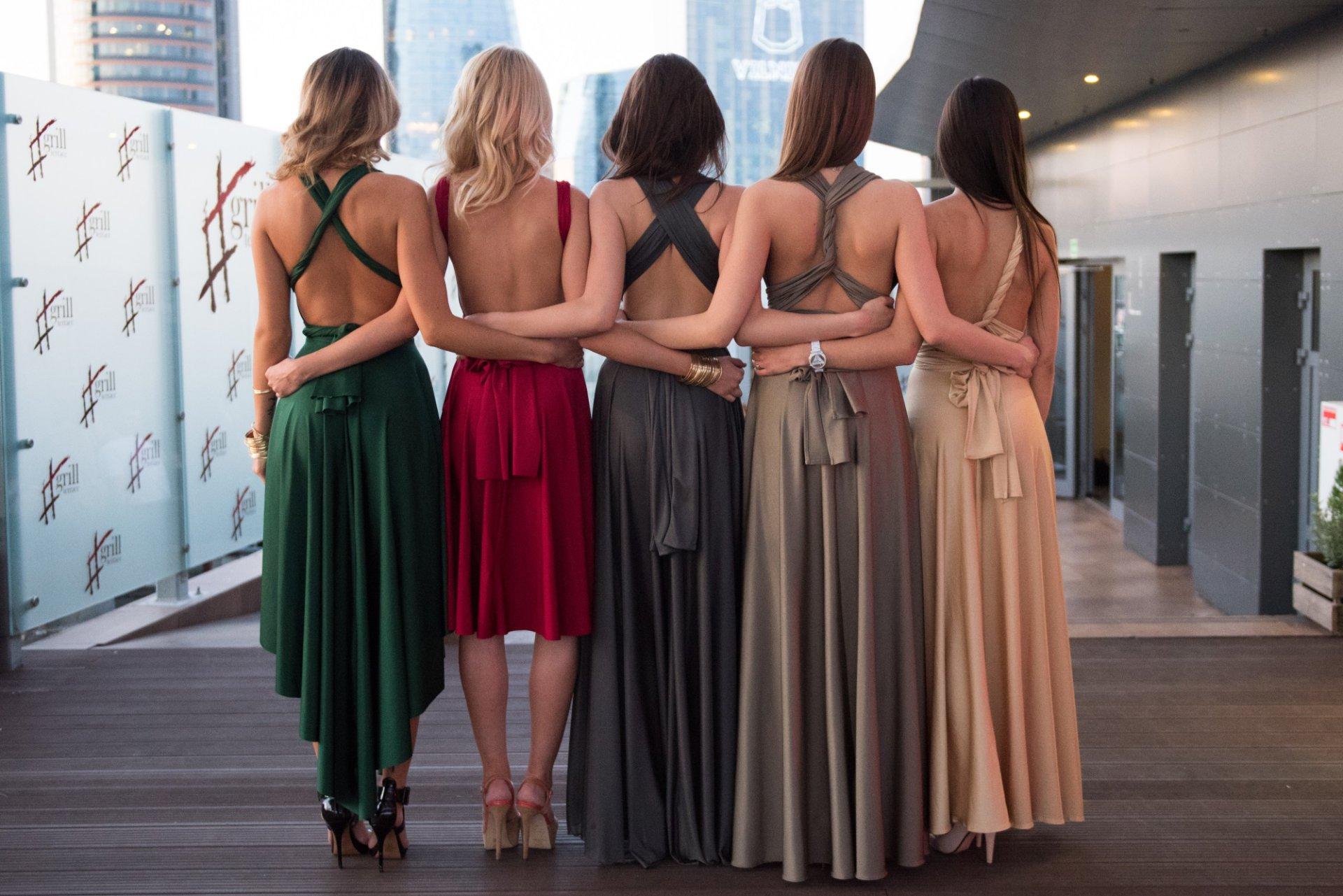 """""""Top to Bottom"""" suknelės """"Multi"""""""