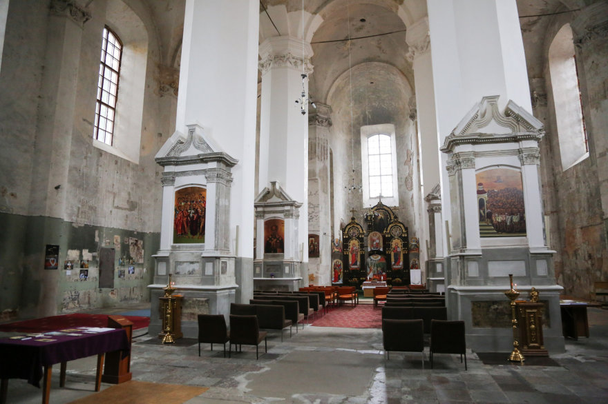 Juliaus Kalinsko/15min.lt nuotr./Švč. Trejybės bažnyčia