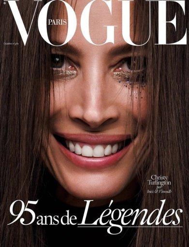 """2015 m. spalio prancūziškojo """"Vogue"""" viršelis"""