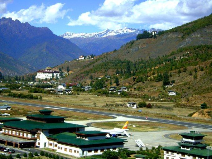 Butane esantis oro uostas