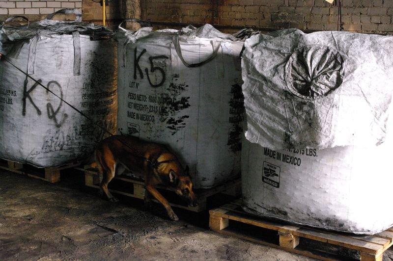 Sulaikytas rekordinis kokaino kiekis