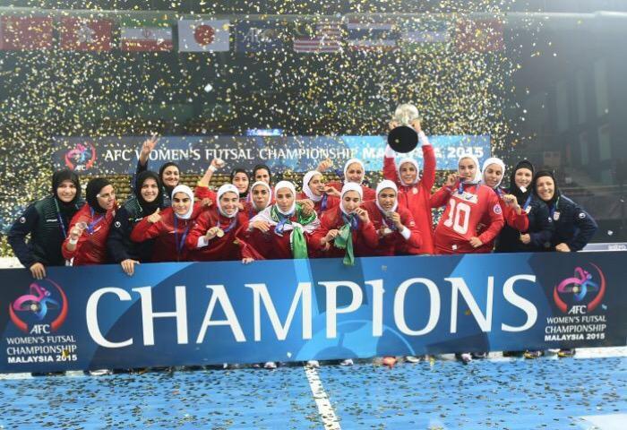 Irano moterų futbolo rinktinė
