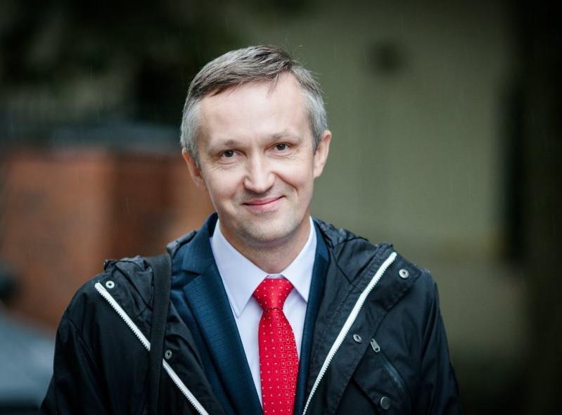 Nacionalinės žemės tarnybos Vilniaus miesto skyriaus vedėjas Arvydas Juška