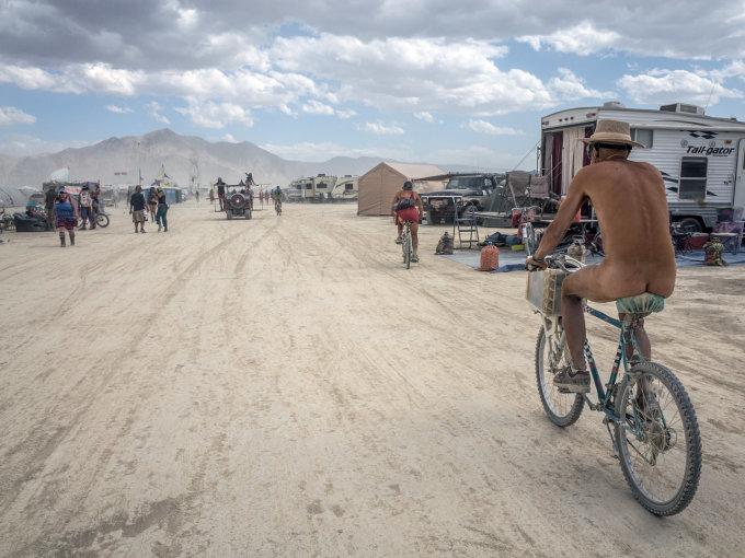 """Vytenio Jankūno nuotr./""""Burning Man 2015"""""""