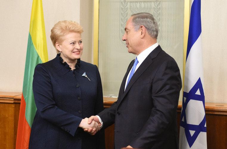Prezidentės susitikimas su Izraelio Ministru Pirmininku Benjaminu Netanyahu