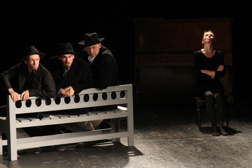BADO MEISTRAS - spektaklio scena 2