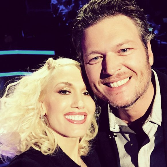 """Scanpix""/Xposurephotos.com nuotr./Gwen Stefani ir Blake'as Sheltonas"