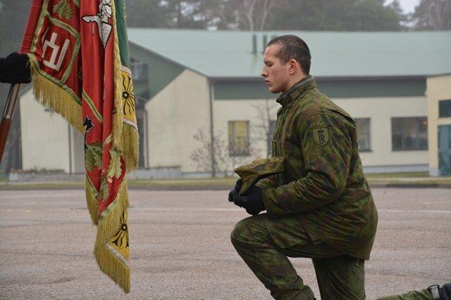 Rukloje prisiekė paskutinė šiemet karių savanorių laida