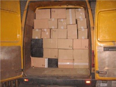 Alytiškio krovininiame automobilyje rasti kontrabandiniai rūkalai