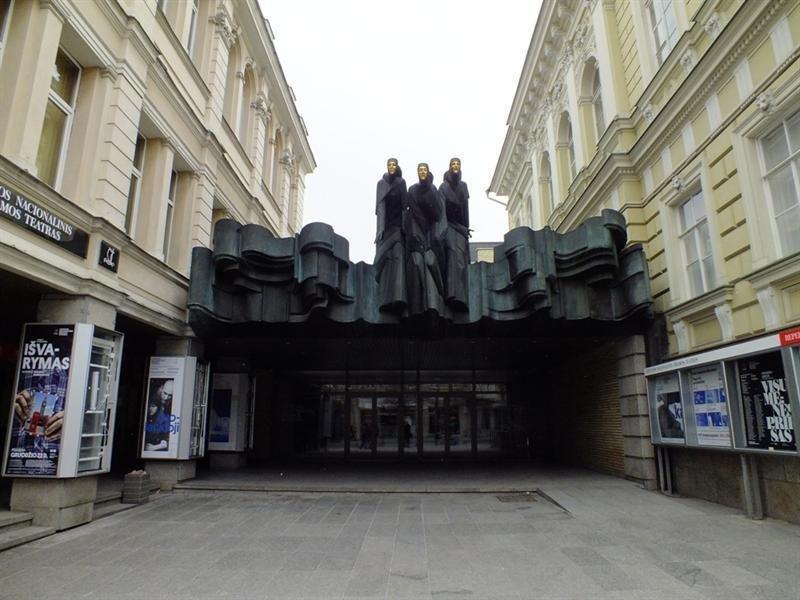 Architekto Vytauto Nasvyčio darbai – Nacionalinis dramos teatras