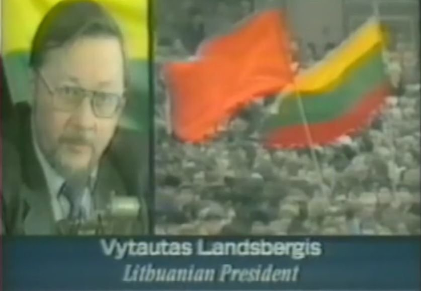 BBC Newsnight stopkadras - Vytautas Landsbergis