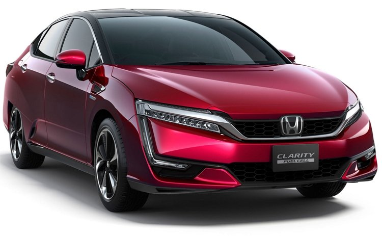"""""""Honda"""" pristato """"Clarity Fuel Cell"""""""