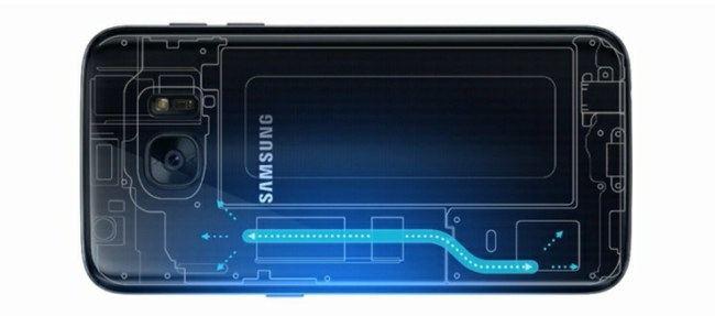 """""""Samsung Galaxy S7"""" aušinimo sistema"""