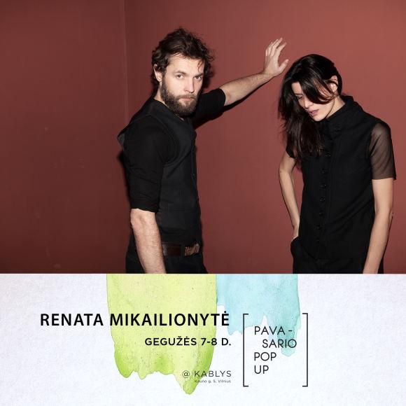 """Lino Masioko nuotr./""""Pavasario Pop up"""" dalyvis: Renata Mikailionytė"""