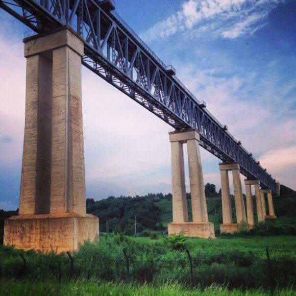 Karolio Žukausko nuotr./Ar žinote, kur galima rasti šį tiltą?