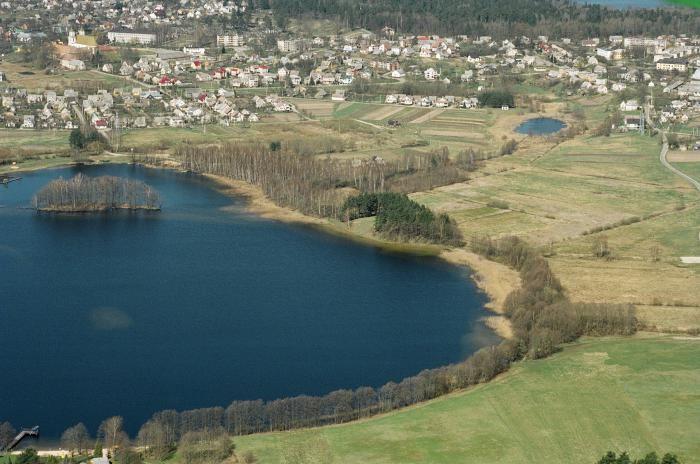 Tytuvėnuose telkši keturi ežerai.