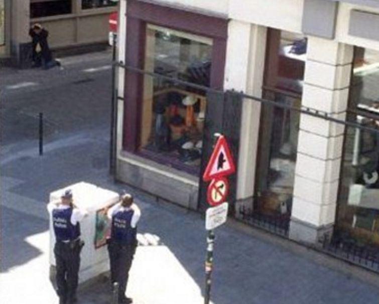 Apsuptas įtariamasis Briuselyje