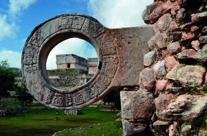 """""""Shutterstock"""" nuotr./Žaidimų kamuoliu aikštė Ušmalyje (Meksika)"""