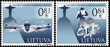 Pašto ženklais bus pažymėtos prasidedančios Rio de Žaneiro olimpinės žaidynės
