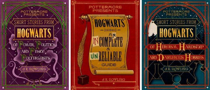 Knygų viršeliai/Bus išleistas trys nauji kūriniai apie Hario Poterio pasaulį