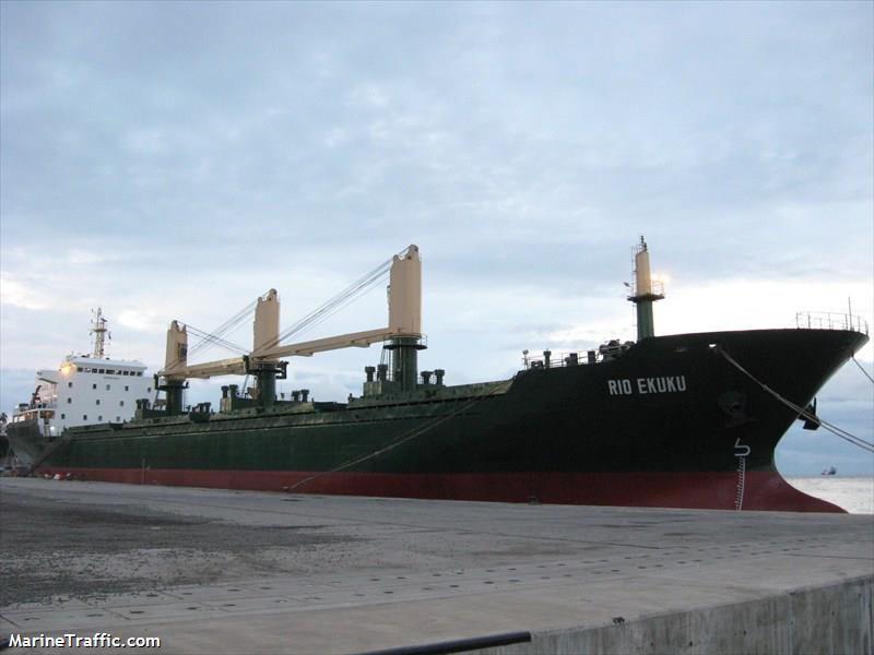 "Marinetraffic.com nuotr./Laivas ""Rio Ekuku"""