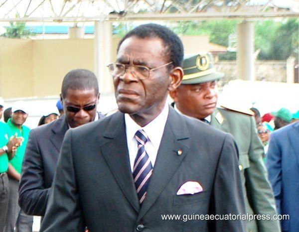Pusiaujo Gvinėjos vyriausybės archyvo nuotr./Teodoro Obiangas Nguema Mbasogo