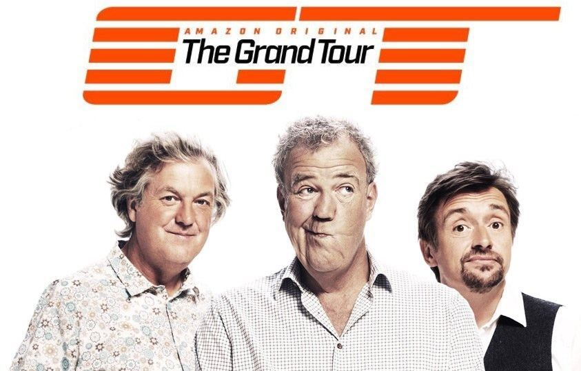 "Amazon prime iliustr./""The Grand Tour"" komanda"