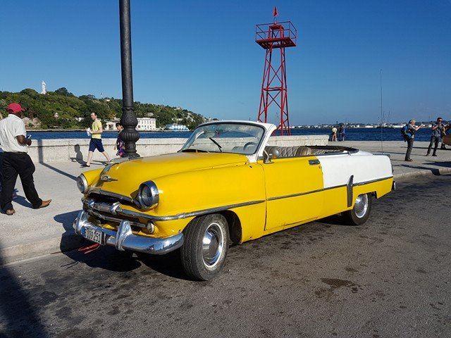 Ingos Stumbrienės atostogų Kuboje akimirka
