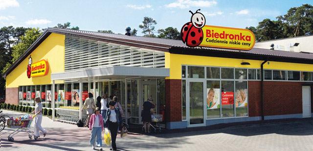 """""""Biedronka"""" parduotuvė"""