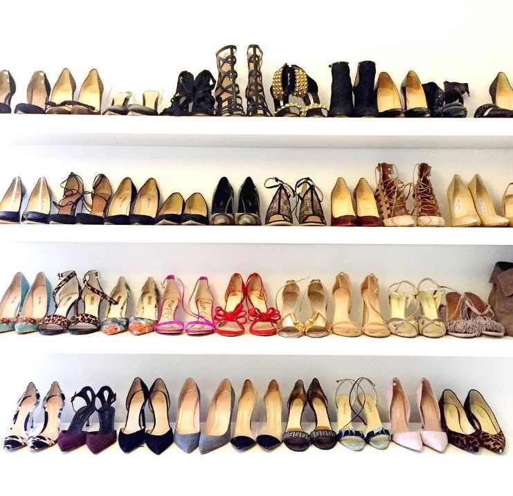 """Instagram"" nuotr./Meghan Markle batų kolekcija"