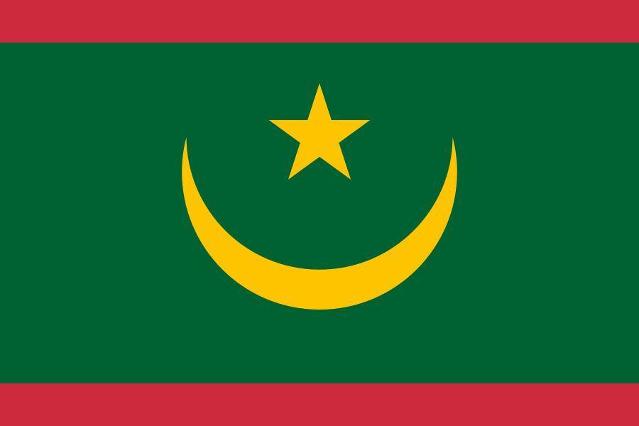 Naujoji Mauritanijos vėliava