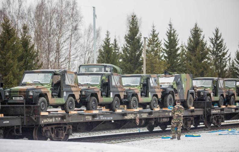 Prancūzų karinė technika Estijoje