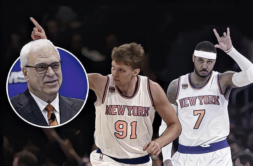 Mindaugas Kuzminskas baigia savo pirmąjį sezoną NBA