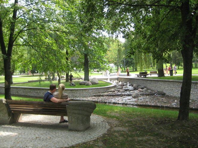 Irmanto Šalaševičiaus nuotr./Poezijos parkas