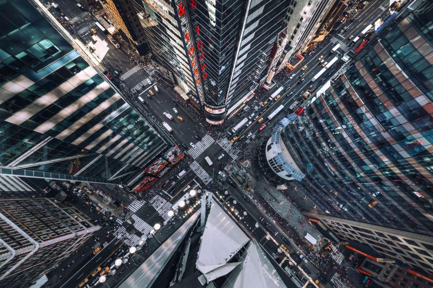 Kvapą gniaužiantis Niujorkas iš dangoraižių viršūnių | GALERIJA