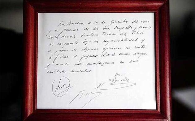Lionelio Messi kontraktas