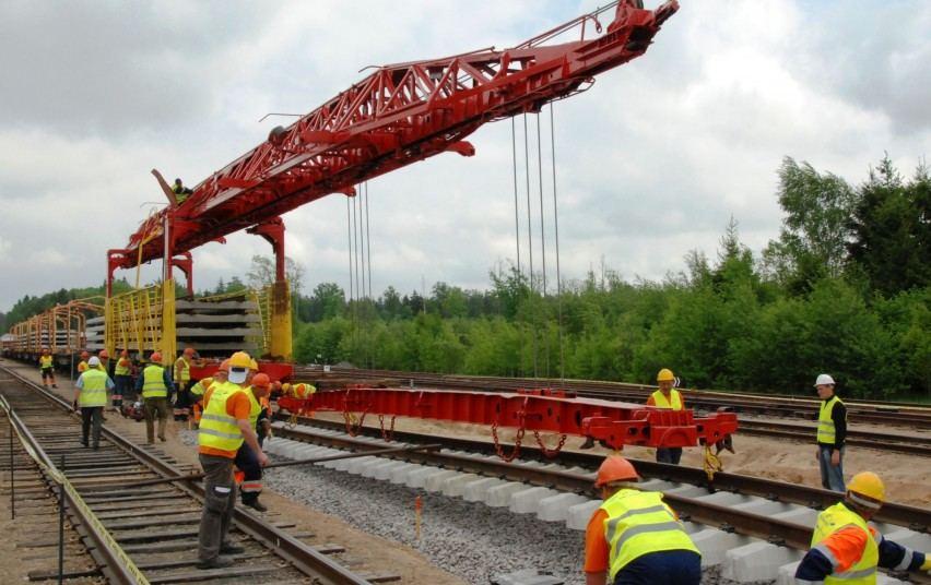 """6 (20) Geležinkelių jungties """"Rail Baltica"""" plėtra"""