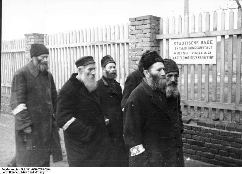 Radomo geto žydai (1941 m. kovas)