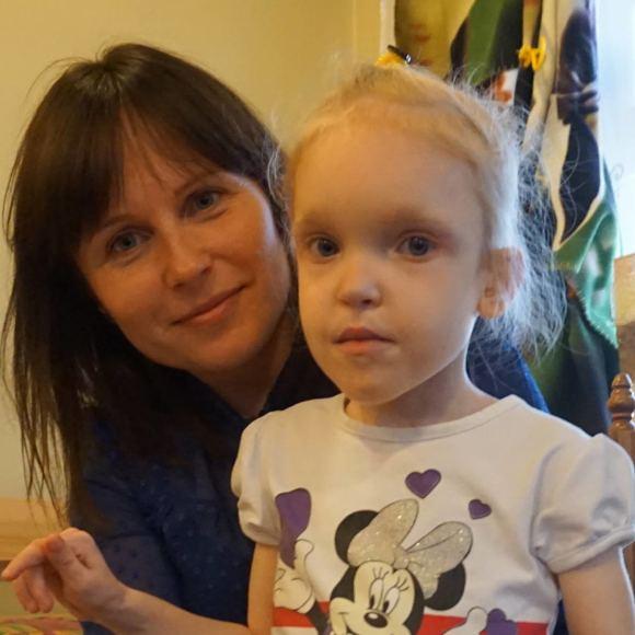 Asmeninio archyvo nuotr./Saulė su mama