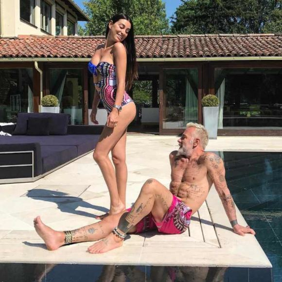 """Instagram"" nuotr./Gianluca Vacchi su drauge Giorgia Gabriele"